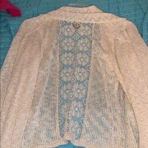 Lucky Brand Sweaters - Big Girls Lucky Brand Cardigan